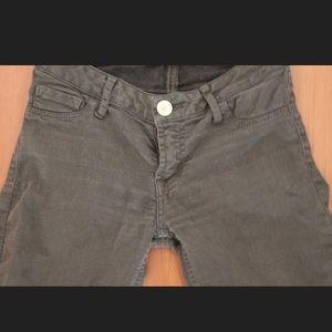 Jeans - DARK GREEN SKINNY JEANS